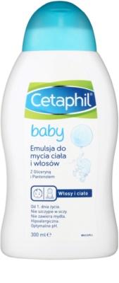Cetaphil Baby емульсія для тіла та волосся для дітей від народження