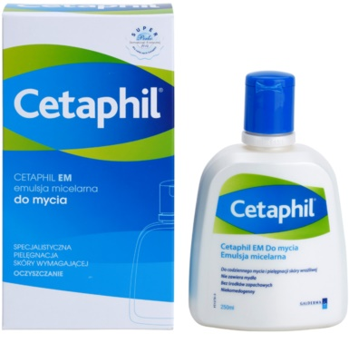 Cetaphil EM mizellare Reinigungsemulsion mit Pumpe 1