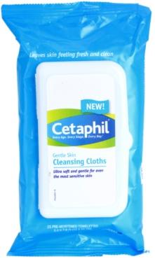 Cetaphil Cleansers almohadillas limpiadoras suaves
