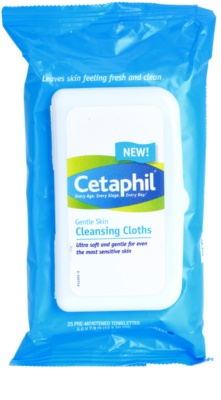 Cetaphil Cleansers toalhitas suaves de limpeza