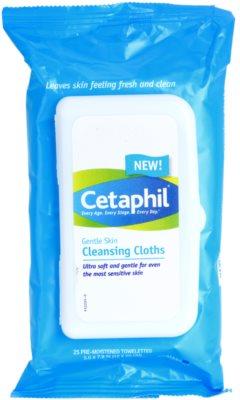 Cetaphil Cleansers делікатно очищаючі серветки