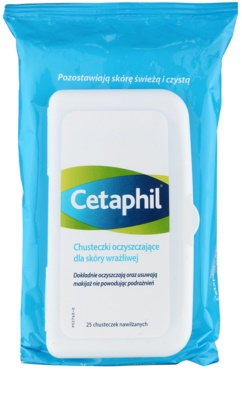 Cetaphil Cleansers čisticí ubrousky pro citlivou pleť