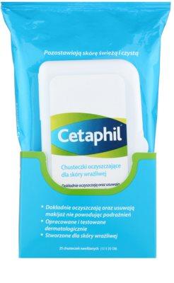 Cetaphil Cleansers chusteczki pielęgnacyjne dla cery wrażliwej 1