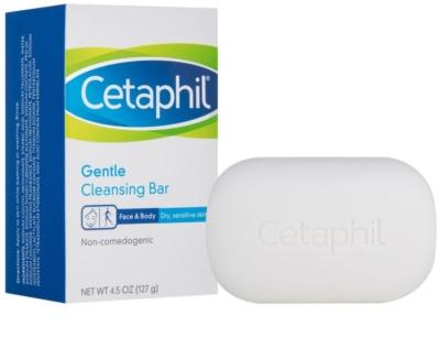 Cetaphil Cleansers jemné čisticí mýdlo pro suchou a citlivou pokožku