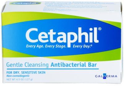 Cetaphil Cleansers sabonete de limpeza antibacteriano suave para peles secas e sensíveis