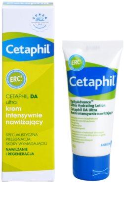 Cetaphil DA Ultra crema intens hidratanta pentru tratament local 1