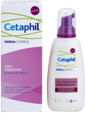 Cetaphil DermaControl čisticí pěna pro mastnou pleť se sklonem k akné 1