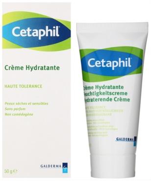 Cetaphil Moisturizers hydratačný krém na tvár a telo pre suchú až citlivú pleť 1