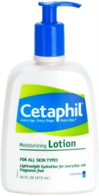 Cetaphil Moisturizers leite corporal hidratante para todos os tipos de pele