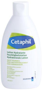Cetaphil Moisturizers leite hidratante para pele seca e sensível