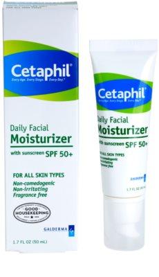 Cetaphil Moisturizers crema de fata hidratanta SPF 50+ 1