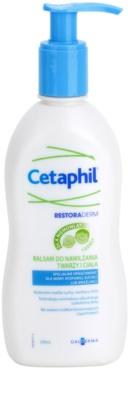 Cetaphil RestoraDerm bálsame hidratante para corpo e rosto