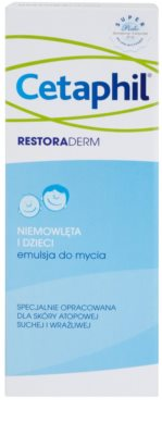 Cetaphil RestoraDerm umývacia emulzia pre deti od narodenia 2