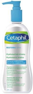 Cetaphil RestoraDerm хидратиращ лосион за тяло за сърбяща и раздразнена кожа