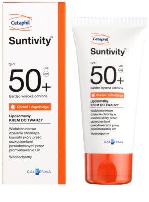 Cetaphil Suntivity cremă de protecție lipozomală SPF 50+ 1