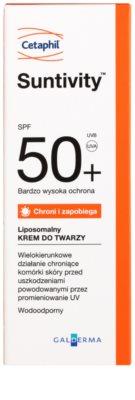 Cetaphil Suntivity cremă de protecție lipozomală SPF 50+ 2