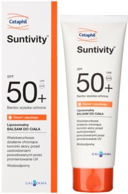 Cetaphil Suntivity liposomalny balsam ochronny SPF 50+ 1