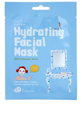 Cettua Clean & Simple mélyhidratáló és tápláló arcmaszk