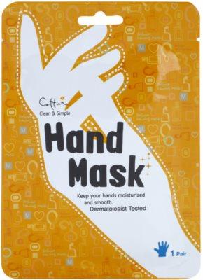 Cettua Clean & Simple hranilna maska za roke