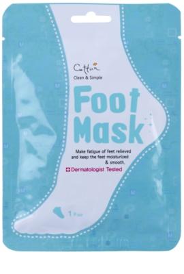 Cettua Clean & Simple calcetines exfoliantes para suavizar e hidratar la piel de los pies