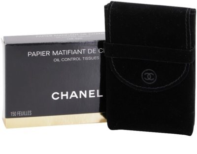 Chanel Accesories toalhitas matificantes 3