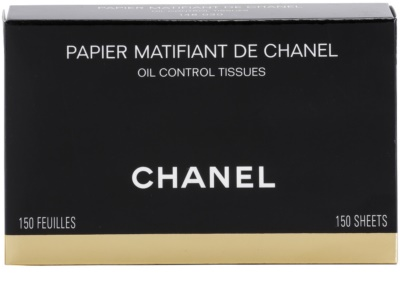 Chanel Accesories mattosító papír 4