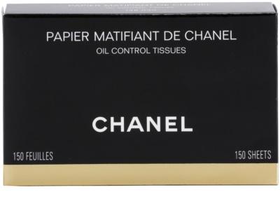 Chanel Accesories серветки з матуючим ефектом 4