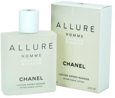 Chanel Allure Homme Édition Blanche after shave pentru barbati
