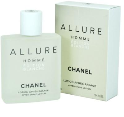 Chanel Allure Homme Édition Blanche loción after shave para hombre