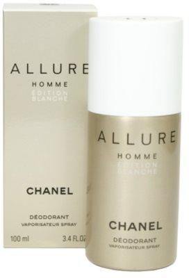 Chanel Allure Homme Édition Blanche deospray pre mužov
