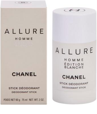 Chanel Allure Homme Édition Blanche dezodorant w sztyfcie dla mężczyzn
