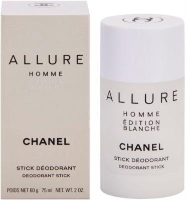 Chanel Allure Homme Édition Blanche дезодорант-стік для чоловіків