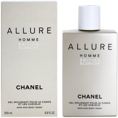 Chanel Allure Homme Édition Blanche tusfürdő férfiaknak