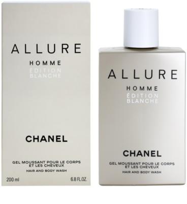 Chanel Allure Homme Édition Blanche żel pod prysznic dla mężczyzn