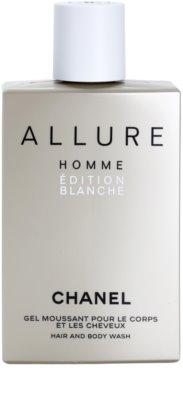 Chanel Allure Homme Édition Blanche гель для душу для чоловіків 1