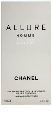 Chanel Allure Homme Édition Blanche гель для душу для чоловіків 2