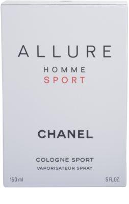Chanel Allure Homme Sport Cologne colonia para hombre 4