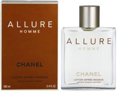 Chanel Allure Homme losjon za po britju za moške