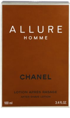 Chanel Allure Homme after shave para homens 2