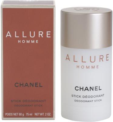 Chanel Allure Homme desodorizante em stick para homens