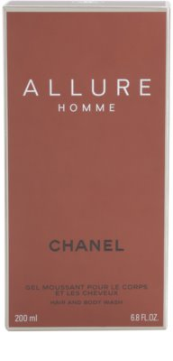 Chanel Allure Homme Shower Gel for Men 3