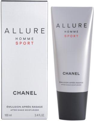 Chanel Allure Homme Sport After Shave balsam pentru barbati