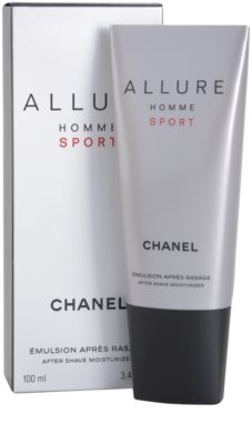 Chanel Allure Homme Sport bálsamo after shave para hombre 1
