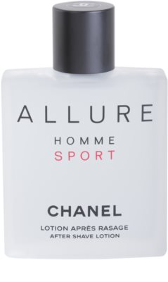 Chanel Allure Homme Sport after shave para homens 2
