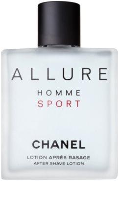 Chanel Allure Homme Sport voda po holení pro muže  tester