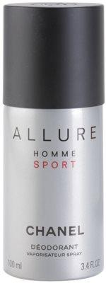 Chanel Allure Homme Sport dezodor férfiaknak