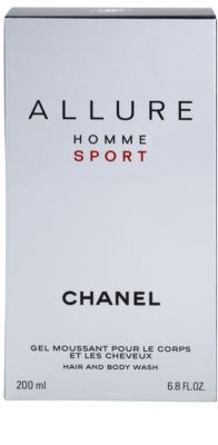 Chanel Allure Homme Sport sprchový gel pro muže 2