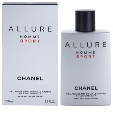 Chanel Allure Homme Sport gel za prhanje za moške