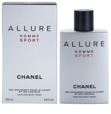 Chanel Allure Homme Sport tusfürdő férfiaknak