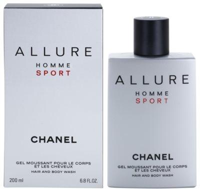 Chanel Allure Homme Sport гель для душу для чоловіків